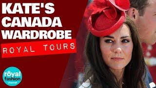Kate's Canada 2016 Fashion Highlights