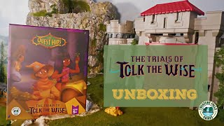 The Quest Kids: The Trials of Tolk the Wise Adventure Campaign - Unboxing