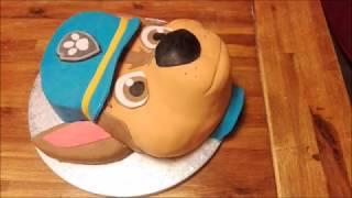 Paw Patrol Cake Tutorial