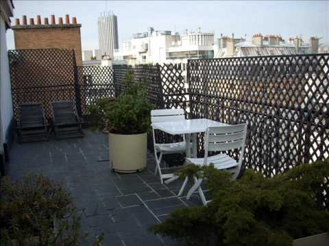 Immobilier paris location appartement terrasse paris 16 for Paris immobilier terrasse