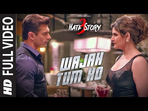 WAJAH TUM HO Full Video Song | HATE STORY 3 Songs | Zareen K