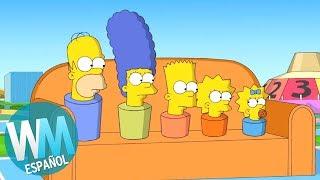 ¡Top 10 Chistes de Sofá de Los Simpson!