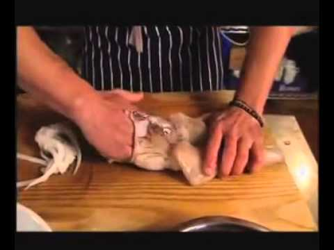 How to clean and prepare squid for cooking