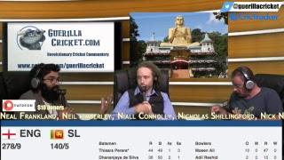 SL v ENG 2nd ODI Dambulla