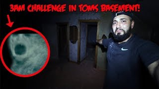 THE HAUNTED 3 AM CHALLENGE IN TOMS HAUNTED HOUSE WE FOUND A DEMON DOLL!