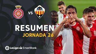Resumen de Girona FC vs CD Castellón (2-1)