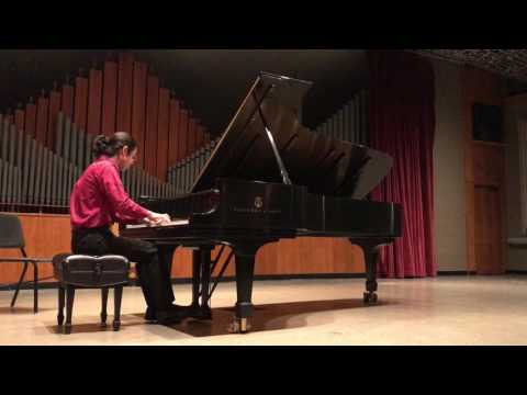 Joshua Sadinsky Piano Recital - Summer 2017 - Fayetteville Arkansas