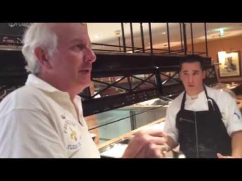 Chef Francois-Apfel Strudel at Vienna, Austria IHG
