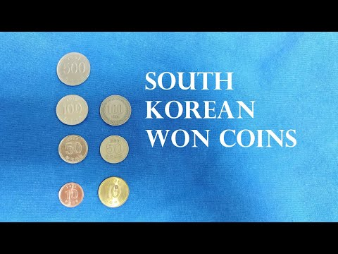 South Korean Won Coins Explained (원, ₩, KRW)