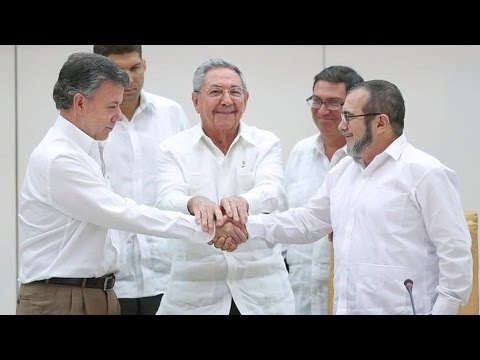 Colombia & FARC Agree to Ceasefire in Historic Peace Deal, Begin Long Process of Implementation