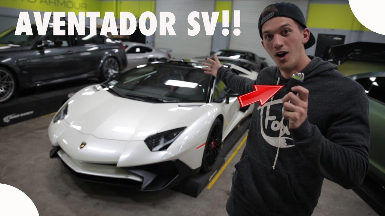 Lamborghini Aventador Sv You