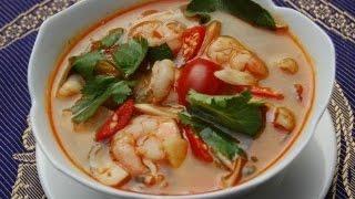 Острый тайский суп Том Ям / Время похавать с Юстус