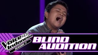 Billy - Firasat | Blind Auditions | The Voice Kids Indonesia Season 3 GTV 2018