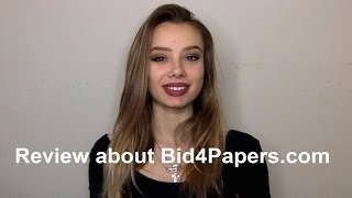 Review about Bid4Papers.com from Student