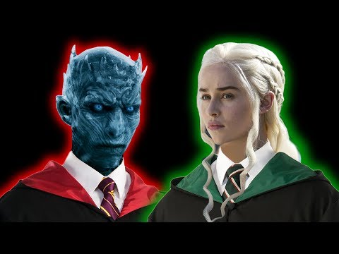 Sorting Game of Thrones Characters Into Harry Potter Houses