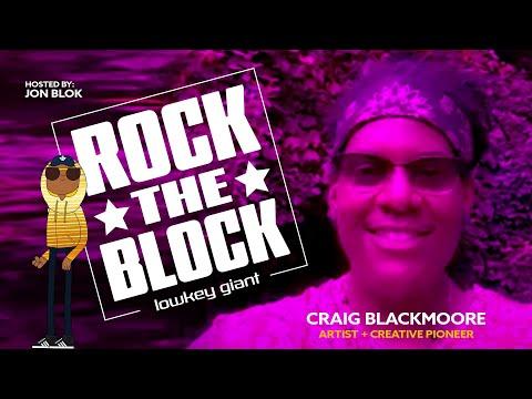 ROCK THE BLOCK: Jon Block w/ Metaverse Artist Craig Blackmoore