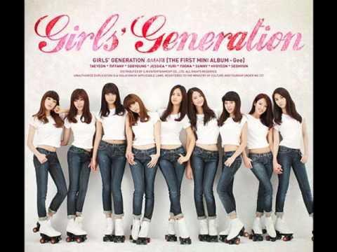 SNSD - Gee (Korean Ver. MP3 only)