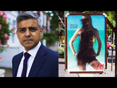 "London's Mayor Sadiq Khan Bans Sexy ""Beach Body"" Images of Women on Public Transport (REACTION)"