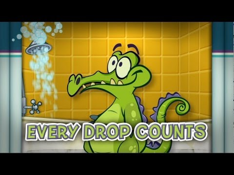 Where's My Water? App Game Trailer From Disney Starring Swampy The Alligator