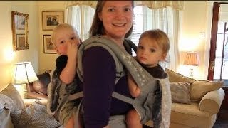 Babywearing Twins Tutorial