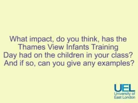 UEL Interview with Mr Wood & Ms Boyce - Question 4