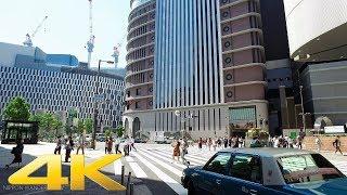 大阪 梅田をお散歩 後編 - Walking around Umeda Kita-ku, Osaka Part2【4K】