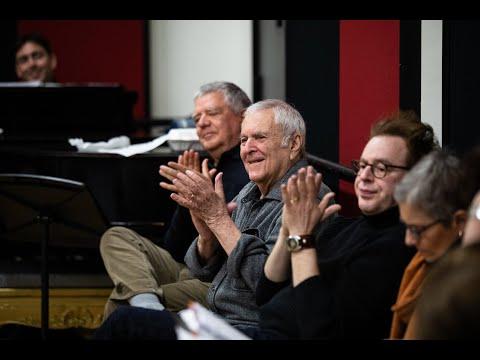 John Kander Visits Cabaret Rehearsal at Manhattan School of Music