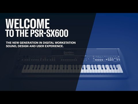 PSR-SX600, Sound Overview