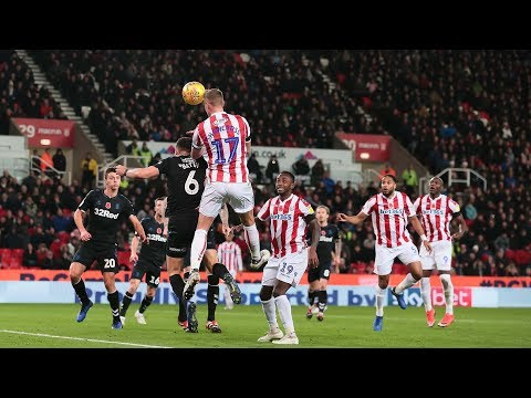 Highlights: Stoke City v Middlesbrough