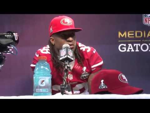 Super Bowl Media Day Interview - Dashon Goldson