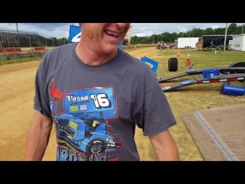 Harris interview dixieland speedway