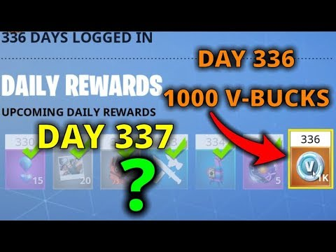 Daily Rewards System Explained - Fortnite Save the World
