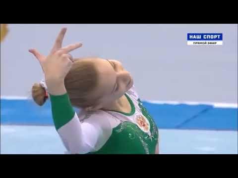 CoP 201720: Angelina Simakova FX 2018 AA Russian Champs
