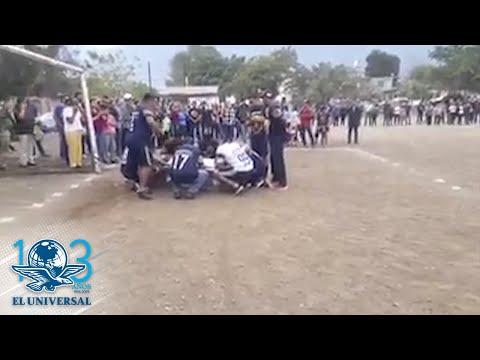 Un jugador marca gol después de muerto en el homenaje de su equipo