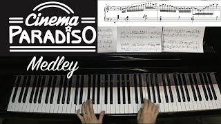 Jacob Koller - Cinema Paradiso Medley - Advanced Piano Cover with Sheet Music