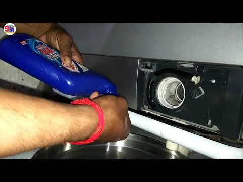 How to Clean Drain washer pump filter front load IFB washing machine