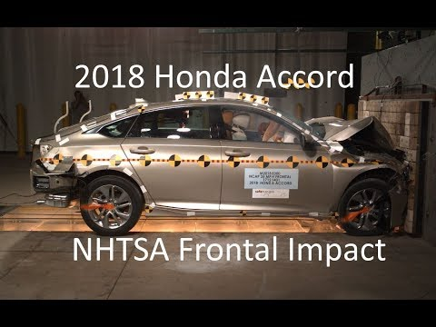 2018-2019 Honda Accord & Hybrid NHTSA Frontal Impact