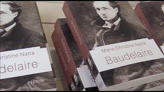 Marie Christine Natta présente sa biographie de Charles Baudelaire parue aux Editions Perrin