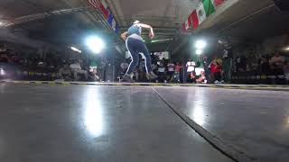 FREESTYLE SESSION MEXICO 2018 SEMIFINAL BGIRL BATTLE MAFER VS ZOELY