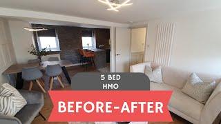 Before - After - 5 Bed HMO to SA - Galashiels - Scotland