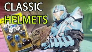 Let`s Open The Classic Helmets Pack! | Halo 5