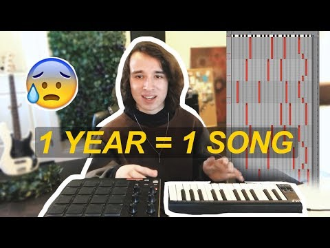SPENDING A WHOLE YEAR ON 1 SONG