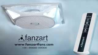 Invento - Recessed False Ceiling Fan | Fanzart