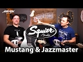 Download Squier Offset 2017 Guitars - Mustangs, Jazzmasters & a Baritone! MP3 song and Music Video