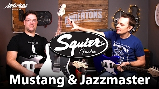 Squier Offset 2017 Guitars - Mustangs, Jazzmasters & a Baritone!