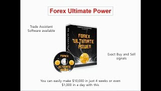 Forex ULTIMATE POWER - Have you tested it out?