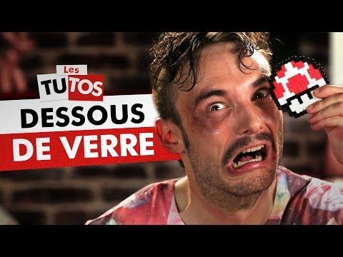 TUTO DESSOUS DE VERRE