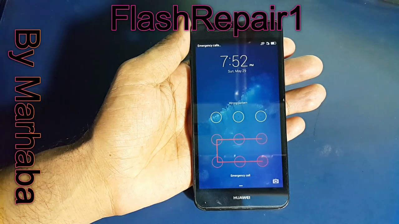 Huawei Y6 Scl U31 Hard Reset And Bypass Google Verify Your Account