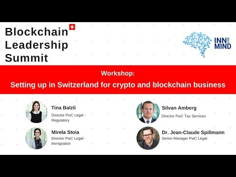 ICO regulation, taxation and legal setup: PWC workshop