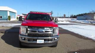 Cleveland Fire F350 Pickup Fast Attack rig